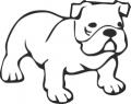 Декоративен стикер - Кучета - 0027