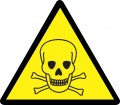Предупреждаващ знак - Токсичен материал