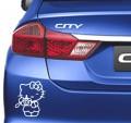 стикер за кола - анимационни герои