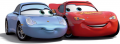 Стикер cars   -   Mcqueen and Sally 57 -