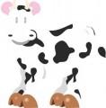 Серия смешни животни крава 1