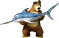 Маша и мечока -   Мечока - 15