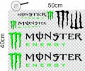 Стикери MONSTER energy  -